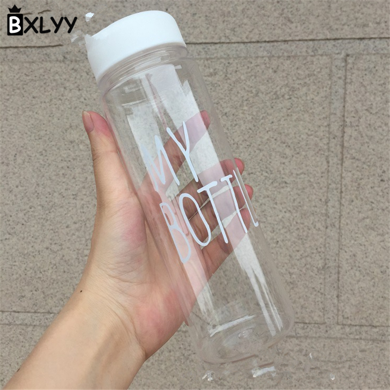 BXLYY Christmas Decor 500ml Portable Water Bottle Leakproof Plastic Sports Kettle Party Supplies Sports Shaker Water Bottle.7z outdoor sports aluminum water bottle green 500ml