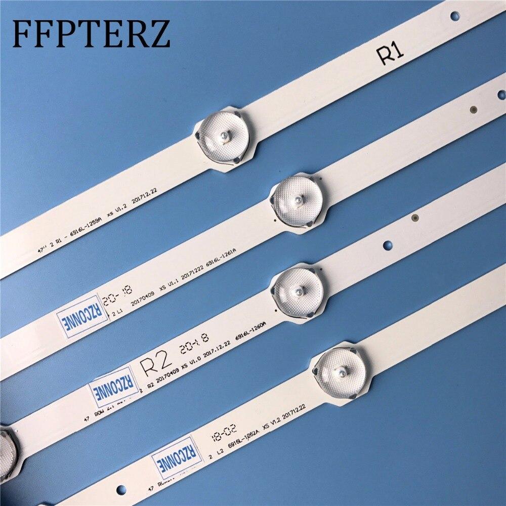 new 94cm LED Backlight strip 9leds For LG 47 LCD TV 47LA6200 47LN5400 6916l 1527a 6916l