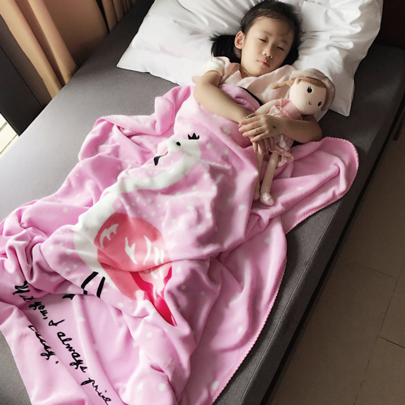 2018 Brand New Toddler Infant Newborn Baby Blanket Pram Cot Bed Moses Basket Crib Knit Blanket Cartoon Sleeping Bag newborn baby blanket bed crib toddler unicorn pattern knit blankets infant soft baby fleece pram crib blanket size 60 120cm