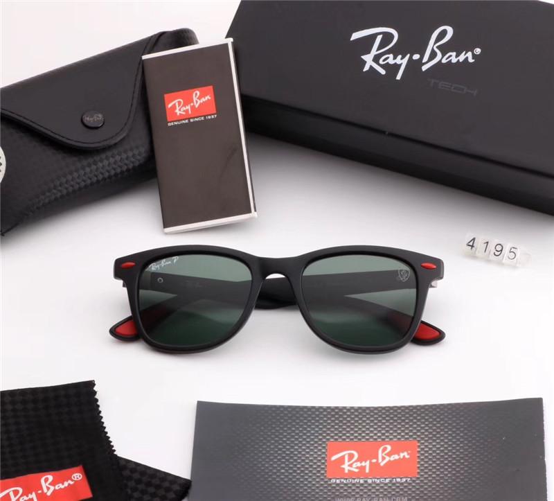 21c80f6a7 Óculos Ray Ban RB4195 Proteção UV - Rei do Relógio