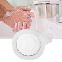 4Pcs/set Transparent Soap Box Wall Attachment Hanging soap dish Organizer Bathroom Toilet Accessories Wholesale