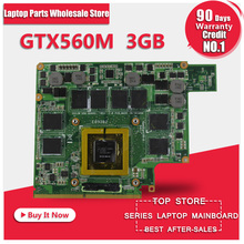 Video Card For G73SW VGA Board GTX 560M N12E-GS-A1 3GB DDR5 MXMIII Laptop Graphic Card for ASUS G73SW G73JW G53SW G53SX G53JW
