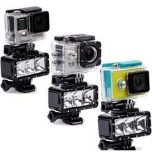 Gopro Underwater Waterproof LED Flash Diving Shooting Fill Light Lamp Mounts For SJCAM SJ4000 Gopro Camera Xiaoyi Sports Camera