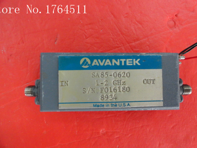 [BELLA] AVANTEK SA85-0620 1.0-2.0GHz 15V SMA low noise amplifier[BELLA] AVANTEK SA85-0620 1.0-2.0GHz 15V SMA low noise amplifier