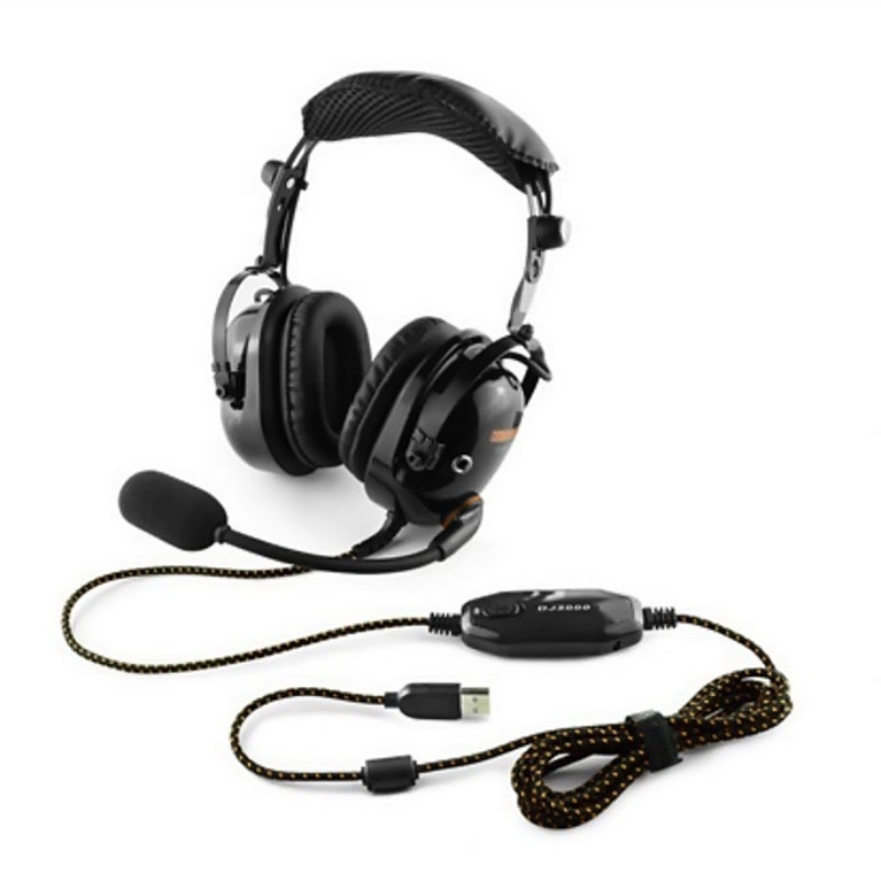 Game Stereo Earphone HiFi Headphones Clear Sound Soft Earmuff Single-sided Noise Cancelling Gaming Headset with Mic 2.5m Cable ...