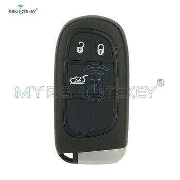 Remtekey Chìa Khóa Thông Minh cho Dodge JEEP Cherokee 2015 3 Nút Khóa nòng 433 Mhz GQ4-54T xe từ xa chìa khóa