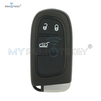 Remtekey Smart Key for Dodge JEEP Cherokee 2015 3 Buttons Keyless Entry 433MHz GQ4 54T car remote key