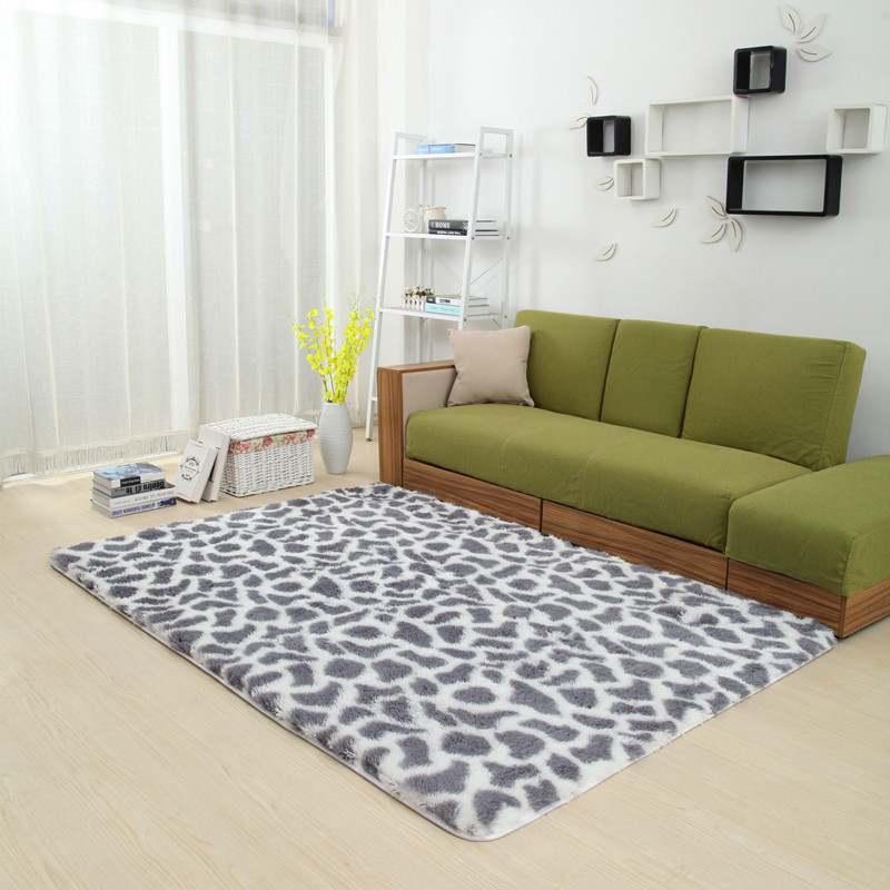 soft area rugs for living room 120x160cm fur 3 0cm carpets for living room soft cow grain 24055