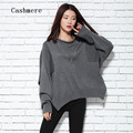 2016 Autumn And Winter Roll-up Hem Turtleneck Sweater Female Short Design Pullover Batwing Sleeve Sweater Plus Size Sweater