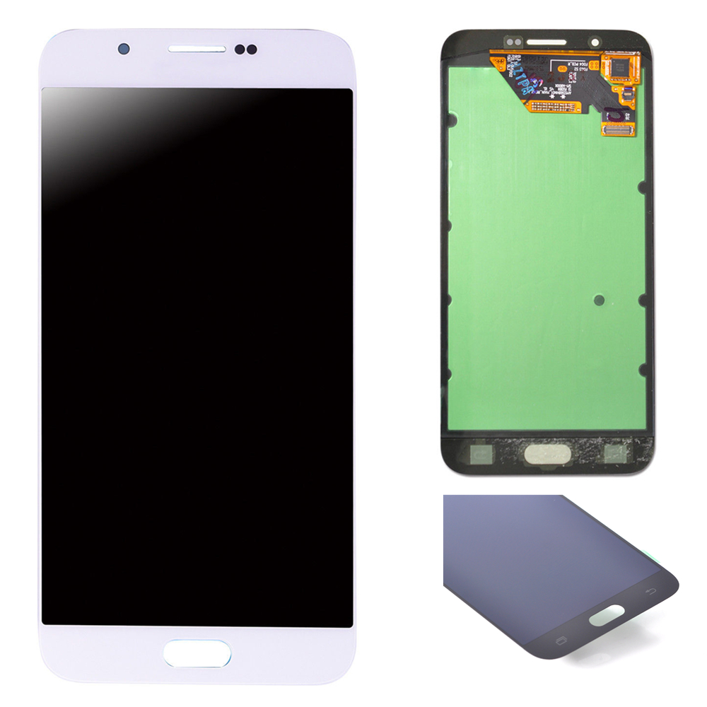 100% Tested LCD Display Touch Screen Digitizer Assembly 5.7'' AMOLED With Free Tools For <font><b>Samsung</b></font> A8 2015 <font><b>A8000</b></font> A800 A800F image