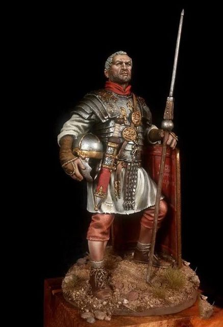 US $15 0  75mm Scale Roman Warrior Spearman Unpainted Resin Model Kit  Figure Free Shipping-in Model Building Kits from Toys & Hobbies on