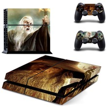 The Lord of the Rings decal PS4 Skin Sticker For Sony Playstation 4 Console +2Pcs Controllers