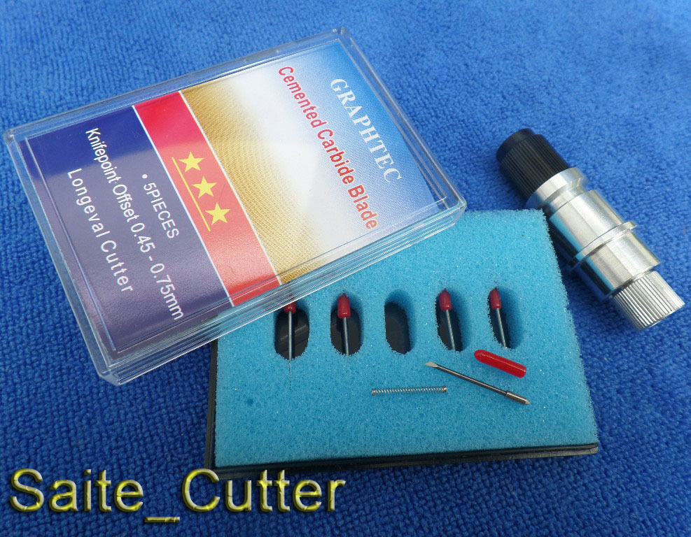 Alu Messerhalter für Silhouette Cameo Curio Portrait CB09 Schneideplotter