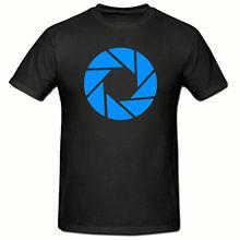 APERTURE SYMBOL T SHIRT, FUNNY NOVELTY MENS SHIRT,SM-2XL New Shirts Funny Tops Tee Unisex Topsfree shipng
