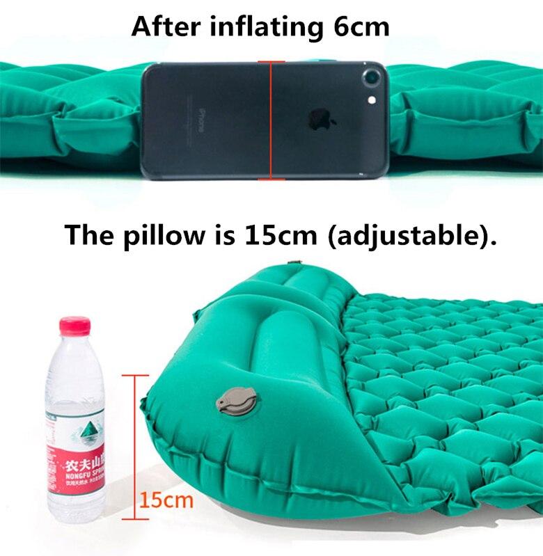 almofada inflável ao ar livre piquenique praia