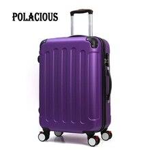 20″24″28″inch Trolley suitcase luggage rolling spinner wheels Pull Rod trunk Women Girl traveller case boarding bag customs lock