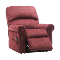 High Quality Foam Recliner Sofa Chair Modern Lounge Upholstered Chaise Indoor Living Room Reclining Chair Adjustable Lounger