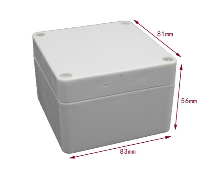 83 * 81 * 56mm grey abs plastic ip65 raincoat box pvc junction box electronic project case of instrument 1 piece lot 83 81 56mm grey abs plastic ip65 waterproof enclosure pvc junction box electronic project instrument case