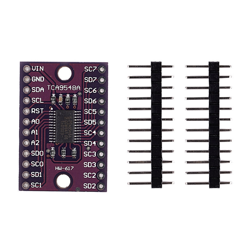 CJMCU- 9548 TCA9548A 1-to-8 I2C 8-way Multi-channel Expansion Board IIC Module Development Board Purple