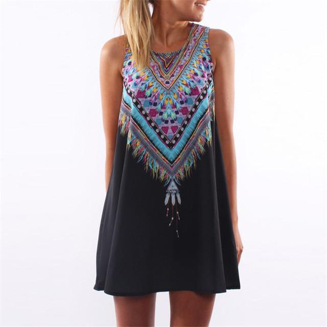 Women Summer Casual Mini Dress