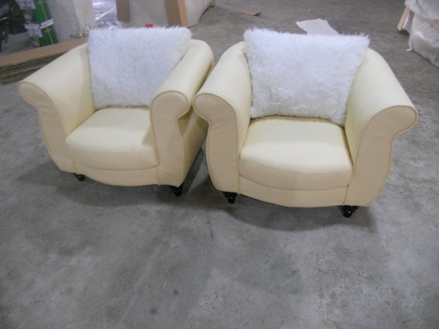 cow genuine leather chair/real leather leisure chair / living room chair home furniture