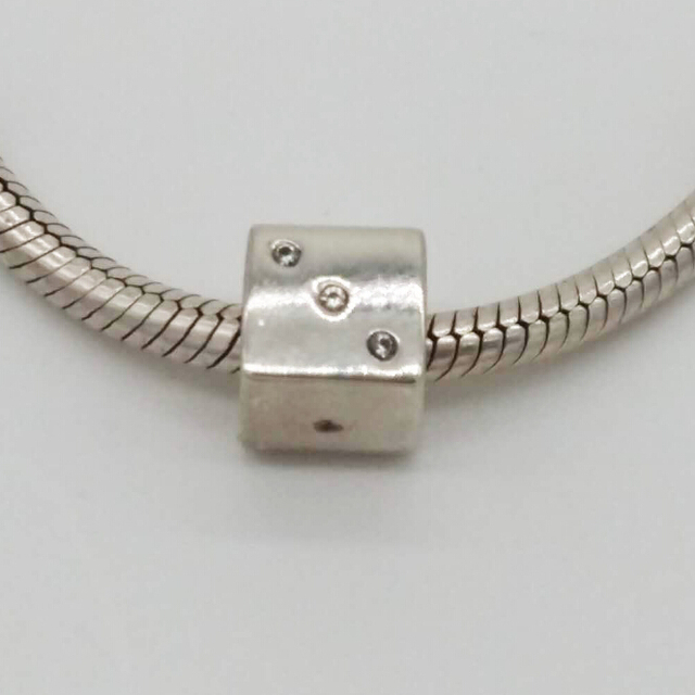 925 Sterling Silver Jewelry Child Thread Charms Fits For Pandora Bracelet Beads Diy Making Whole
