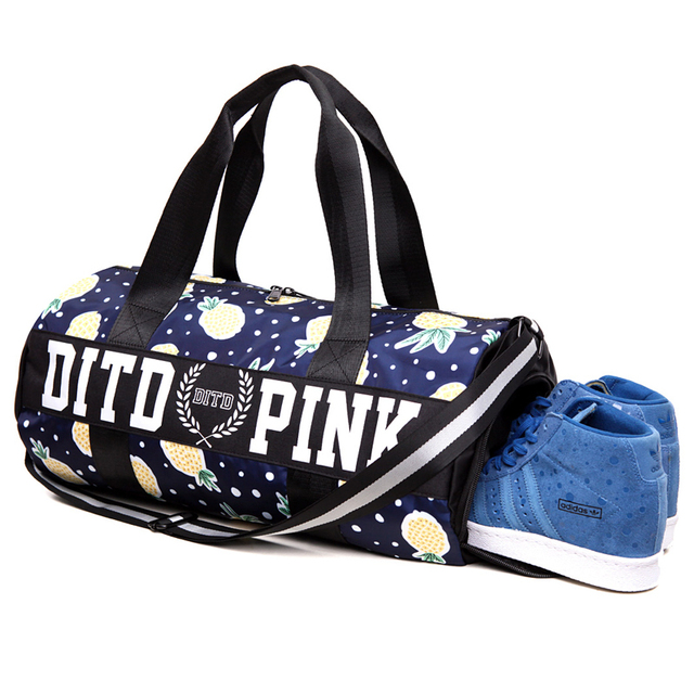 Women's Sports Gym Bag Handbag Men's Nylon Outdoor Bag Fitness Training Shoulder Yoga Bag With Shoes Compartment Sac De Sport