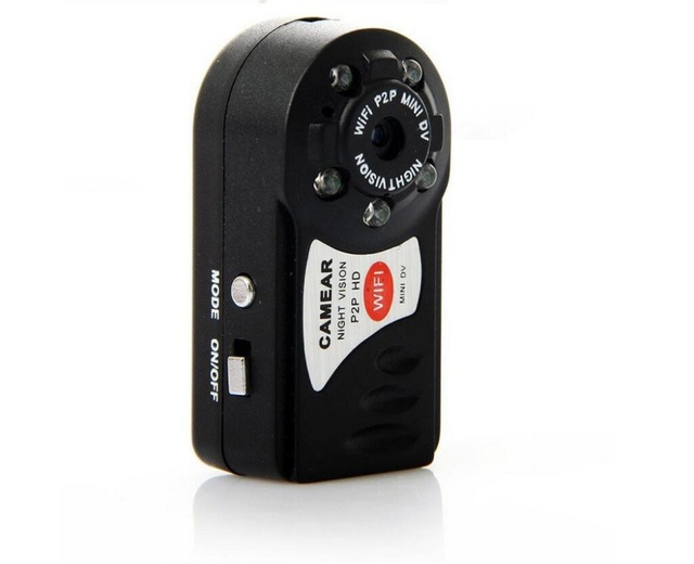 Night Vision Mini Hidden Q7 Camera 480P Wifi DV DVR Wireless IP Cam Brand New Mini