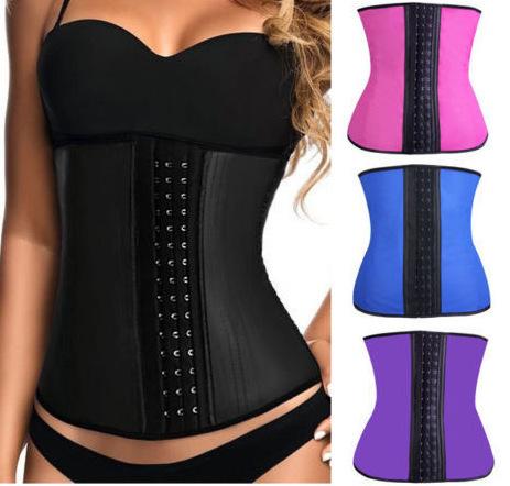 Amigas body hot shapers cintura látex trainer mulheres espartilhos e bustiers sexy tummy controle shapewear emagrecimento pós-parto cintas