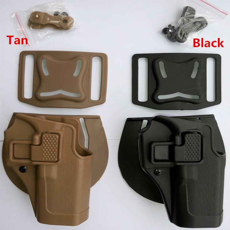 100 genuine Military Army Tactical Compact RH Pistol Paddle Belt for glock Holster gun holster right