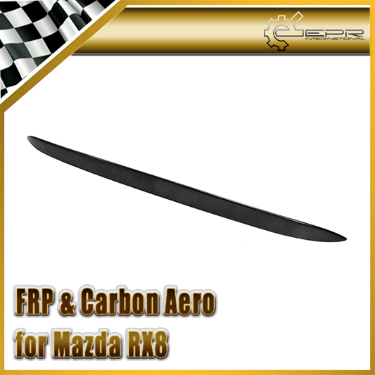 Car Accessories For Mazda <font><b>RX8</b></font> FRP Fiber Glass Rear Roof Spoiler(All Model) Fiberglass Rear Window <font><b>Wing</b></font> Racing Auto Body Kit Trim image