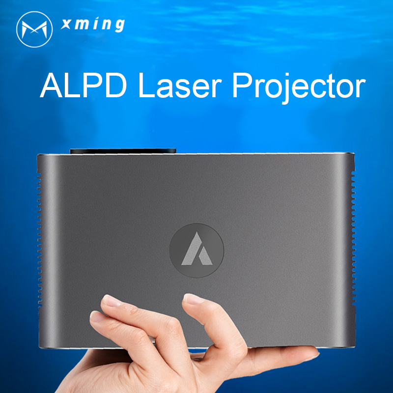 Appotronics A1 XMING M2 Portable Laser Projector 3D Full HD 1080P 4K Android 4.4 1280*800 Bluetooth 800 ANSI Lumen WIFI 300inch 2 set lot neutrik powercon type a nac3fca nac3mpa 1 chassis plug panel adapter