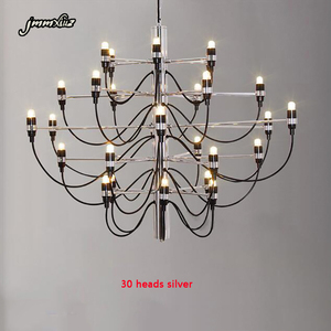Image 2 - Jmmxiuz Modern home decorationa lamps 18/30/50 gold / silver Gino sarfaitti designed chandeliaer dining room light the room