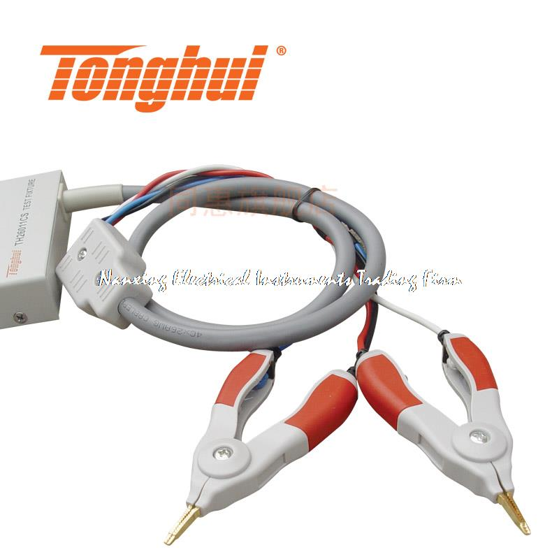 ФОТО Fast arrival TH26011CS Four terminal of kelvin test cables lead LCR meter TH26011C upgraded version