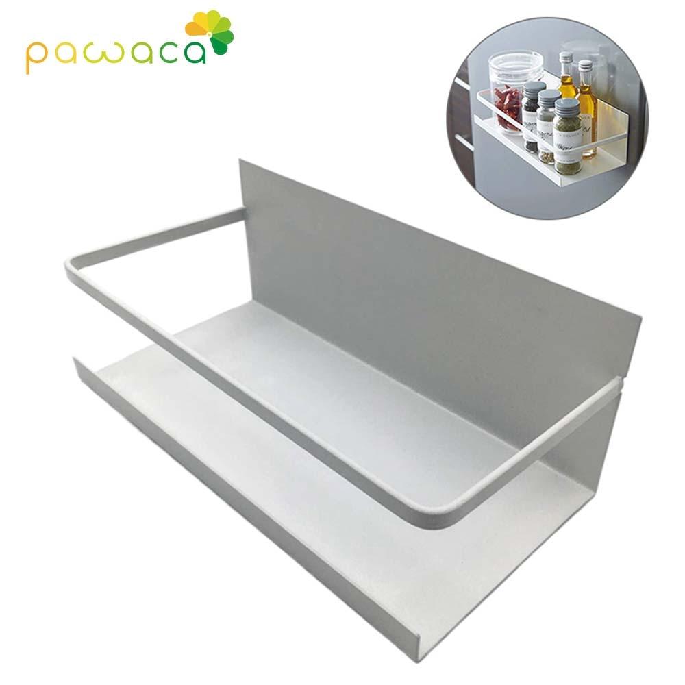 Multifunctional Kitchen Shelf Magnetic Absorption Type Rack Storage Rack Kitchen Storage Holder For Refrigerator
