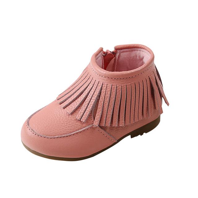 2017 de alta qualidade para crianças martin botas crianças botas meninas botas de tornozelo shoes moda botas de couro botas de neve 4 cores yy0531