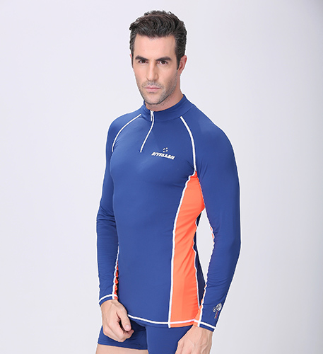 7285ac9861 Free Shipping Conjoined long sleeved Diving clothes prevented bask in jellyfish  garment snorkeling bathing suit Swimming suit-in Wetsuit from Sports ...