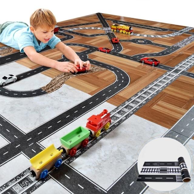 acheter piste de voiture jouets pour enfants jouer jeux de voiture bricolage. Black Bedroom Furniture Sets. Home Design Ideas