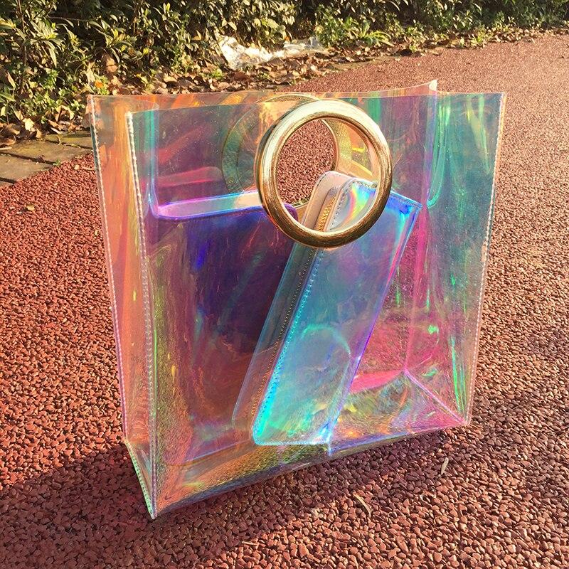 Luksuzne torbe Oblikovalci Ročne torbice Hologram Laserska torba - Torbice - Fotografija 6