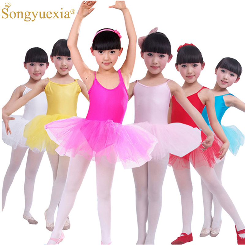 Wholesale Girls Ballet Dress For Children Girl Dance Clothing Kids Ballet Costumes For Girls Dance Leotard Girl Dancewear