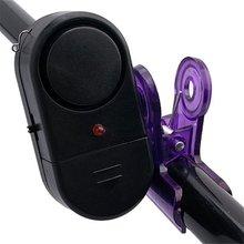 Wholesale 5X Electronic Fishing Rod LED Light Fish Bite Alarm Bell