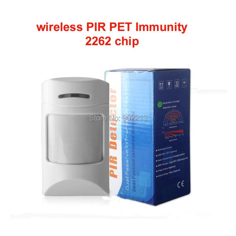 free shipping wireless Pet immunity PIR sensors  pet firend weight less 12KG 2pcs/lot thetford биотуалет thetford porta potti qube 365