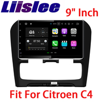 Liislee Car Navigation GPS For Citroen C4 2012~2014 Android Audio Video HD Touch Screen Stereo Multimedia Player No CD DVD