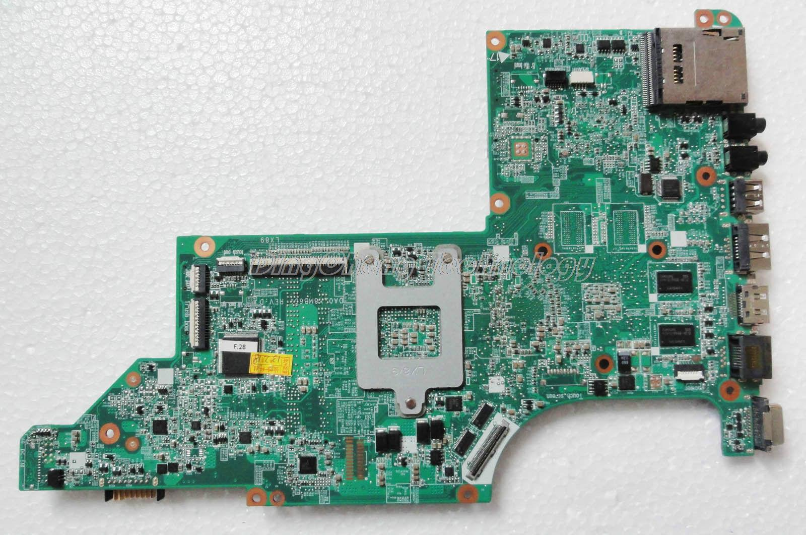SHELI laptop Motherboard for hp DV7 DV7-4000 notebook mainboard 615686-001 DA0LX8MB6D0 31LX8MB00A0 HD5470/512 100% Tested high quality laptop motherboard fit for hp pavilion dv7 4000 dv7 4100 laptop motherboard 615688 001 100