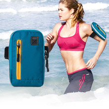 4 in 1, AONIJIE Outdoor Multifunction Waterproof Sports Running Armband Bag GYM Cycling Shoulder Sling Money Pouch for Phone