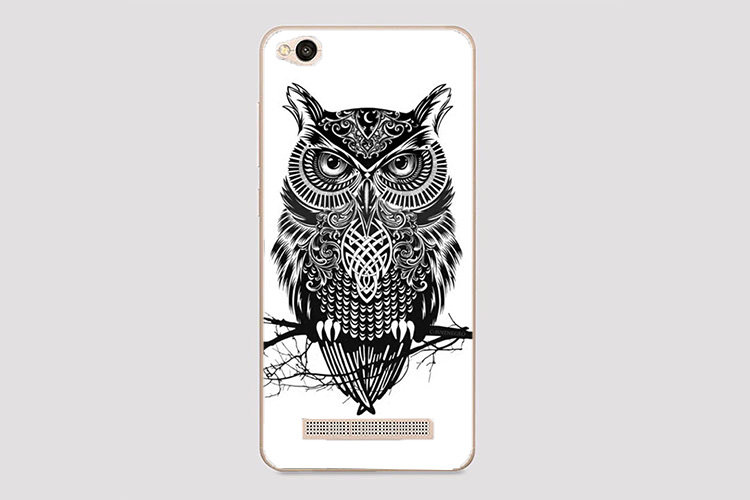 For Xiaomi Redmi 4A Case Cover Diy UV Painting Colored Tiger Owl Rose - Mobile Phone Accessories and Parts - Photo 2