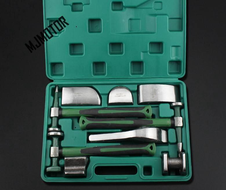 (9pcs/kit) Sheet Metal Tools Set General Use For Most Auto Car ROEWE MG CHERY HAVAL BYD FAW SAIC MOTOR PARTS