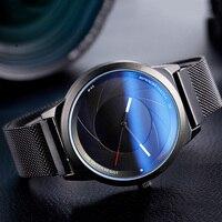 Reloj original con hebilla magnética para hombre 2019  relojes de lujo para hombre  reloj deportivo de cuarzo de malla resistente al agua  reloj Relogio Masculino|Relojes de cuarzo| |  -