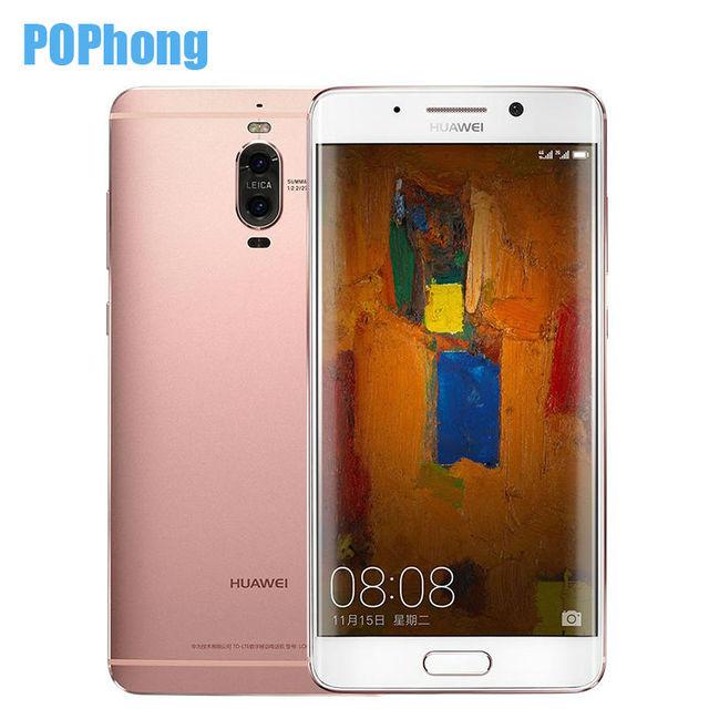 Original Huawei Mate 9 Pro 6GB RAM 128GB ROM 5.5 inch Smartphone Android 7.0 Kirin 960 Octa Core 2 Back Camera 20.0MP+12.0MP