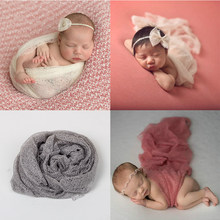elodie Newborn Baby Soft Comfortable Wrap Photography Props Infant Costume Outfit Baby Photo props Accessories 50*160CM hammock(China)